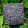 Kissenbezug | Design 43 Floral Fresco | Black/Natur