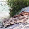 Frottiertuch aus Halbleinen von verum textilia - Made in Austria