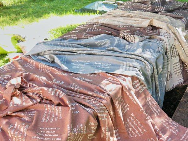 Stoffe aus 100% Biobaumwolle - verum textilia