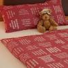Einzigartige Bettwäsche mit eingewebten Zitaten von verum textilia