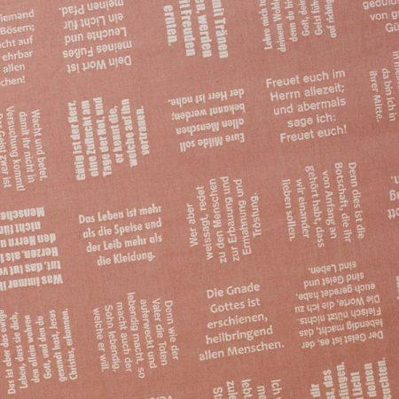 Meterware | Stoffe | gewebte Botschaften von verum textilia