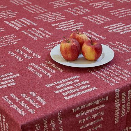 Tischtücher von verum textilia - alle Größen!