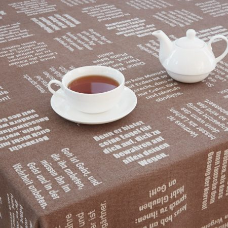 Tischtücher aus 100% Biobaumwolle - verum textilia