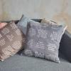 Deko-Kissen | eingewebte Sprüche | verum textilia