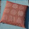 Kissenbezug | eingewebte Sprüche | verum textilia